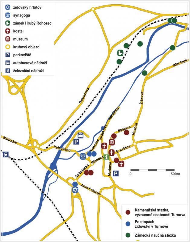 mapa Naucne stezky CJ 1 1, obrázek se otevře v novém okně
